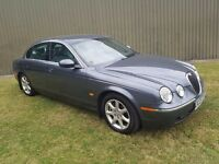 2005(05) JAGUAR S-TYPE 2.5 V6 SE PLUS AUTO MOT MAY 2017 FULL HISTORY 3 KEYS LOVELY INTERIOR PX WELC