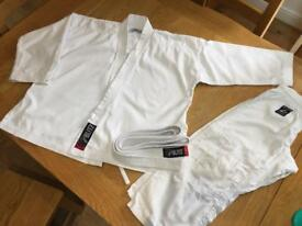 Kids judo/martial arts suit age 8-10