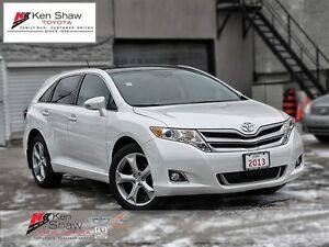 2013 Toyota Venza LEATHER, MOONROOF, V6, AWD