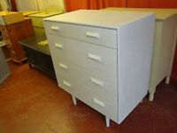 Stag Vintage Mid-Century Chest Of Drawers. By John & Sylvia Reid.