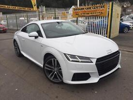 """AUDI TT ULTRA S-LINE """"YES THIS IS BRAND NEW FOR THE NEW 66 REG"""" (glacier white) 2016"""