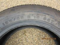 """NEW. FIRESTONE 185 X 65 X 15"""", 88T FUEL SAVER TYRE, (NEVER FITTED)."""