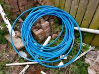 Plastic hard pipe