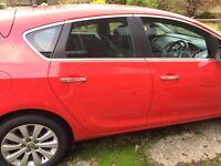 2013, 2.0 CDTI Vauxhall Astra (elite),