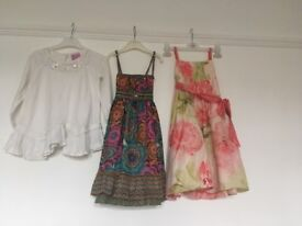 Summer dresses and linen trousers