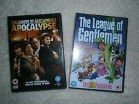 The League of Gentlemen DVD's