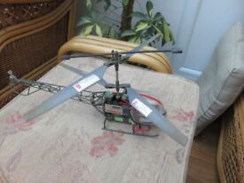 Remote control double horse outdoor helicopter, fully working.