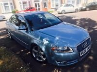 Audi a4 se tdi lowered and remap to 175bhp