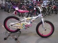 GIRLS BLOSSOM BIKE 16 INCH WHEELS