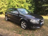 2010 (10) Audi A3 se technic manual 1.6 petrol metallic grey low miles stunning car