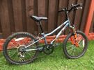 """Boys 20"""" bike like new with front suspension can deliver for a small charge"""