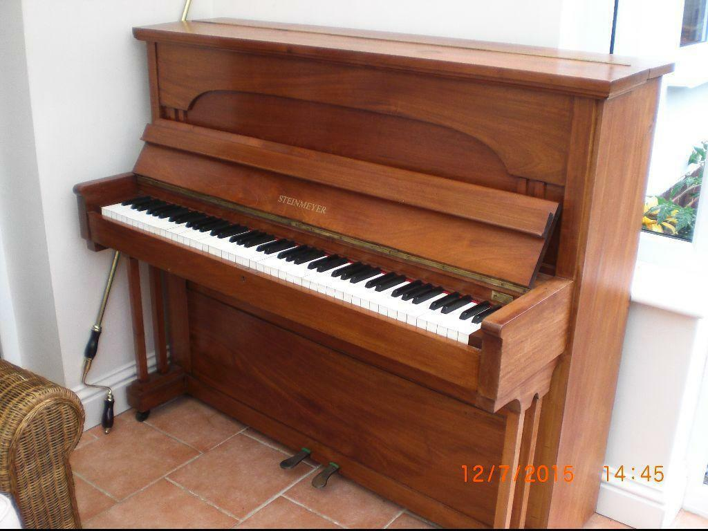 steinmeyer upright piano in tonbridge kent gumtree. Black Bedroom Furniture Sets. Home Design Ideas