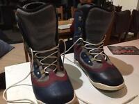 Burton snowboard boots size 12.5