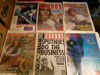 527 Vintage Music Magazines 1985-1997 NME, Sounds, Melody Maker. Job Lot