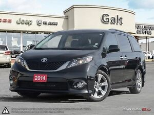 2014 Toyota Sienna SE   DVD   ROOF   ONLY $207 BI-WEEKLY*