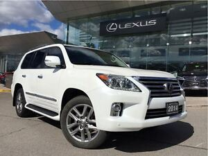 2014 Lexus LX 570 Ultra Premium Pkg AWD Navi Back Up Cam Leather