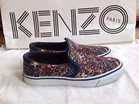 KENZO Women's Multicolor Flying Tiger Slip-on Sneakers Size 5 - 2015