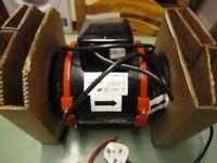 Black Orchid BO-HF-125-UK 125 mm 5-Inch Diameter Hybrid Flo In Line Extractor fan