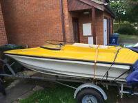 Boat for sale with 30hp engine !!!