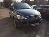 07873 638269 – 2009 Ssangyong Kyron EX 2.0 Diesel 4WD