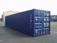 40ft Shipping Containers for HIRE (CSC Plate) DEWSBURY