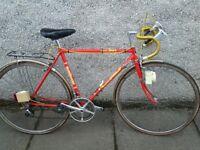 Vintage Elswick road racer bike