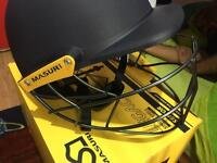 Cricket Helmet MASURI legacy senior size large brand-new