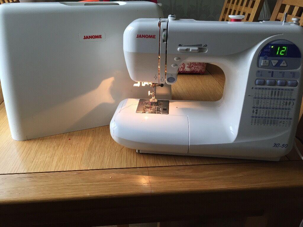 Janome Embroidery Sewing Machine Cx 50 In Cumbernauld Glasgow