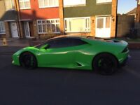 Green wrapped Lamborghini Huracan 2014 - Bitcoin / Crypto ccy accepted