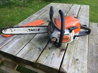 Stihl MS 181 2 years old light use