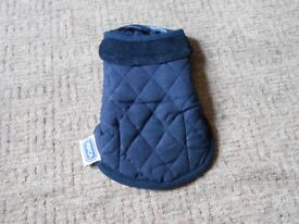 NEW RSPCA Blue Luxury Lined & Quilted Dog Jacket