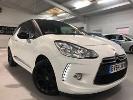 Citroen DS3 1.6 e-HDi Airdream DStyle Plus 3dr £0 DEPOSIT FINANCE AVAILABLE
