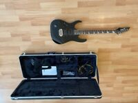 Ibanez Electric Guitar (Left-Handed) + Hard Travel Case + Accessories
