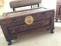 Small Camphor chest / ottoman free local delivery