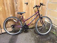 Girl's Mountain/Commuter Bike Falcon Interceptor