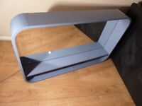 Ideal Standard 600 X 650mm Glossy Blue Mirror With Light And Shelf - RRP-£799.99