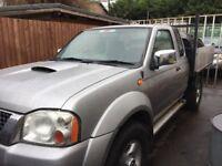 Nissan navara king cab tipper 2005