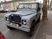 """1973 Land Rover Series 3 88"""""""