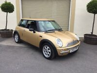 2004 Mini One Automatic 1.6 With Full Black Leather