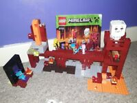 Lego minecraft The Nether Fortress playset 21122