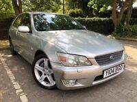 Lexus IS 200 Automatic, Half Leather, Only 70k Miles, Drives like new!