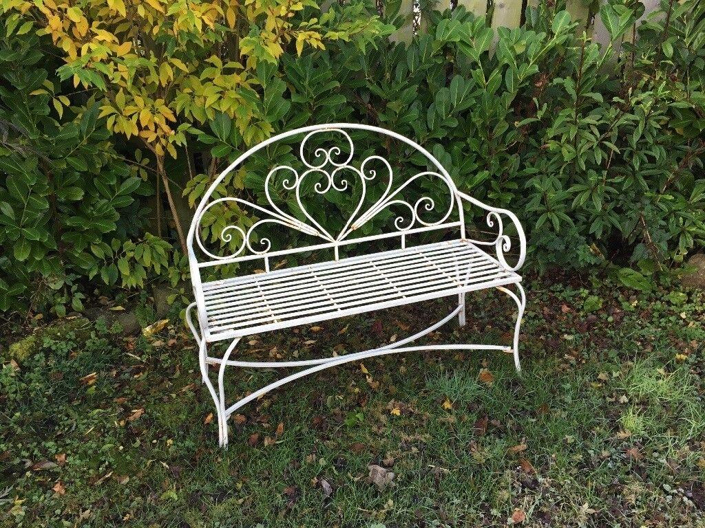 Ornate garden seat