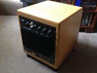 BK Electronics XLS200 DF mk2 275w subwoofer, real oak veneer