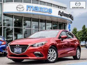 2015 Mazda Mazda3 Sport GS-Heated Seats, Back Up Camera, Bluetoo