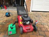 Mountfield RS100 petrol lawn mower