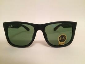Ray Ban Justin Sunglasses RB4165 (matte black)