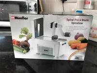 Mueller spiralizer
