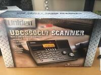 Uniden Desktop Airband Scanner & Pre Amp