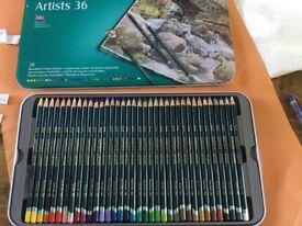 DERWENT ARTISTS 36 BLENDABLE COLOUR PENCILS