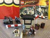LEGO 7620 Indiana Jones - Motorcycle Chase - Last Crusade - 100% Complete
